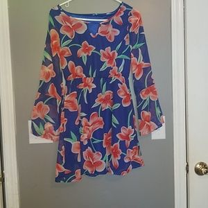 Cute polyester dress size large